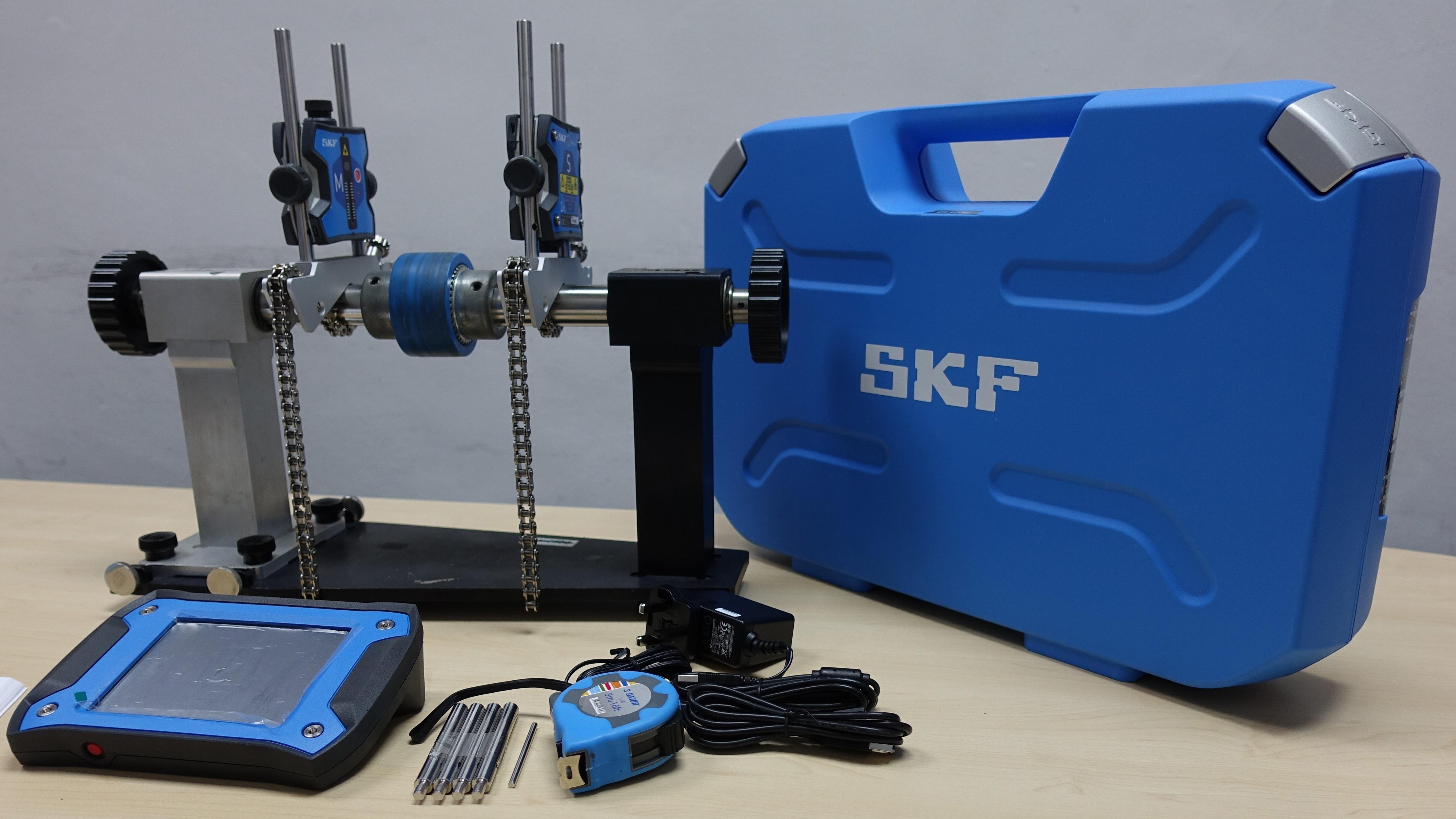 Image showing the SKF shaft alignment tksa 41 kit